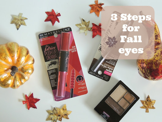 Fall Eyes with Maybelline