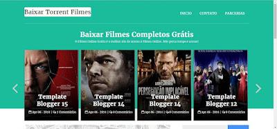 Template Galeria Baixar Filmes Torrent Blogger