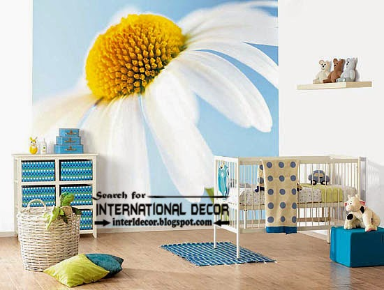 modern wall murals for kids room wallpaper, wall covering ideas