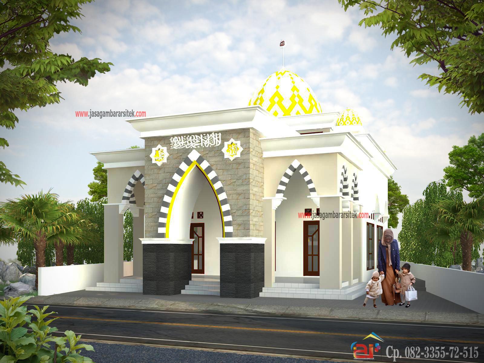 Gambar Desain Masjid Minimalis