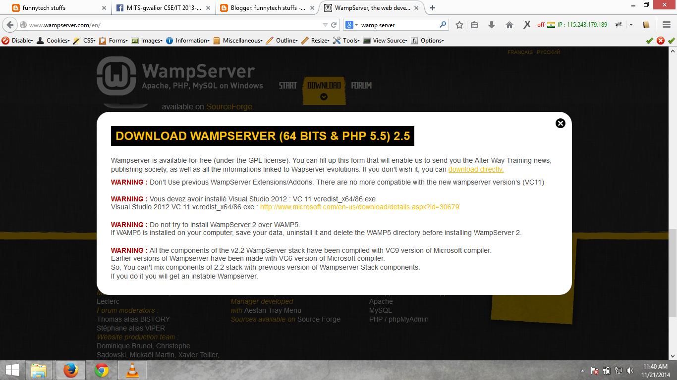msvcr110.dll wampserver windows 8