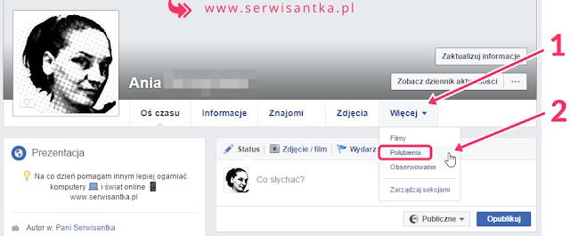 Ustawienia prywatności facebook kto widzi moje lajki