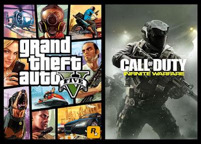 Call of Duty: Infinite Warfare בראש טבלת המכירות בבריטניה; GTA V עדיין בין 5 הנמכרים ביותר