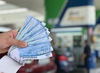 Castiga 300 de lei in vouchere pentru combustibil