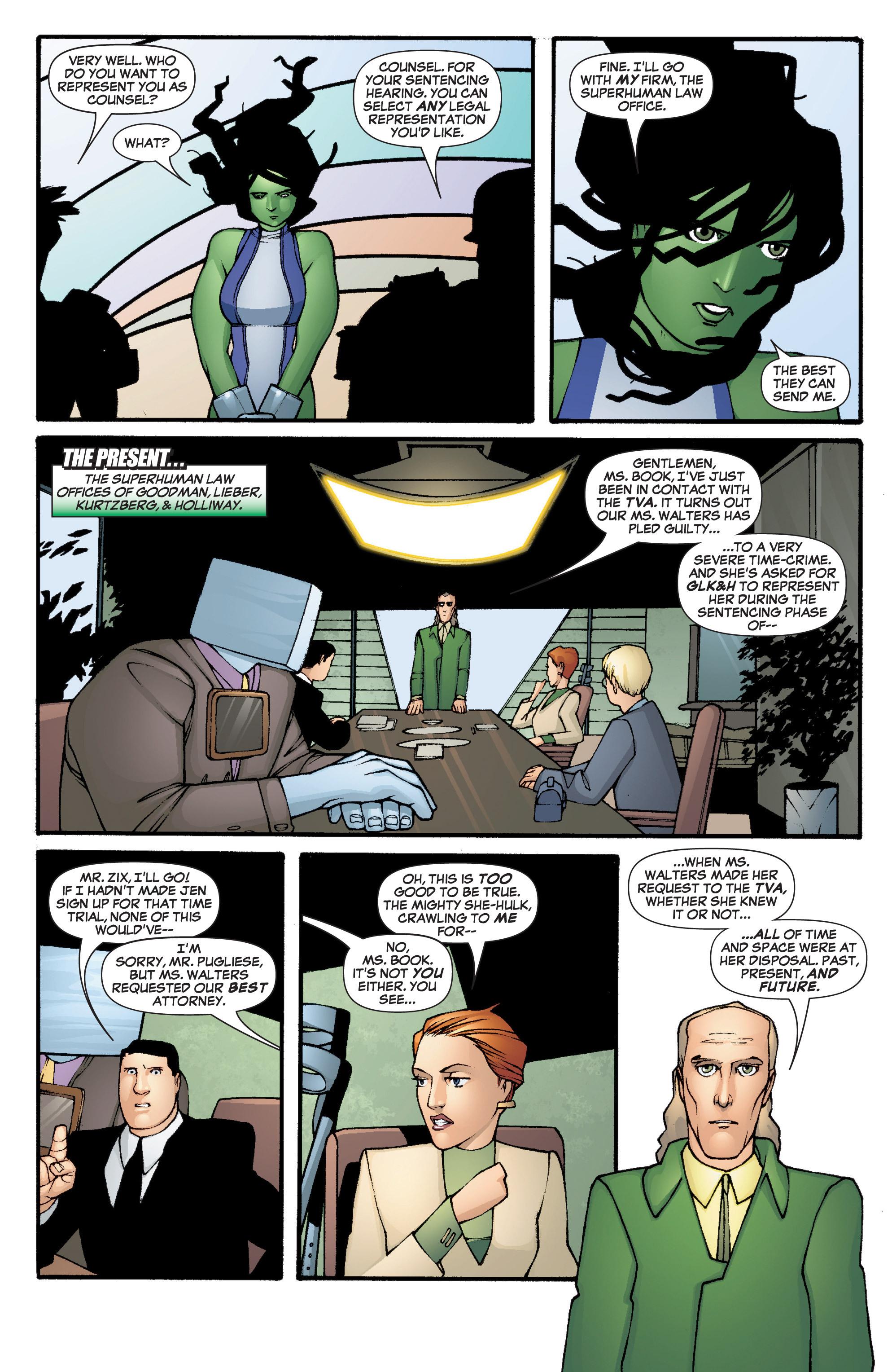 Read online She-Hulk (2005) comic -  Issue #3 - 6