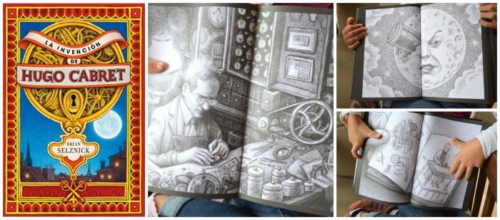 libro infantil y juvenil: la invención de Hugo Cabret