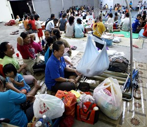 Banjir: Dua Pusat Pemindahan Dibuka Di Sarawak