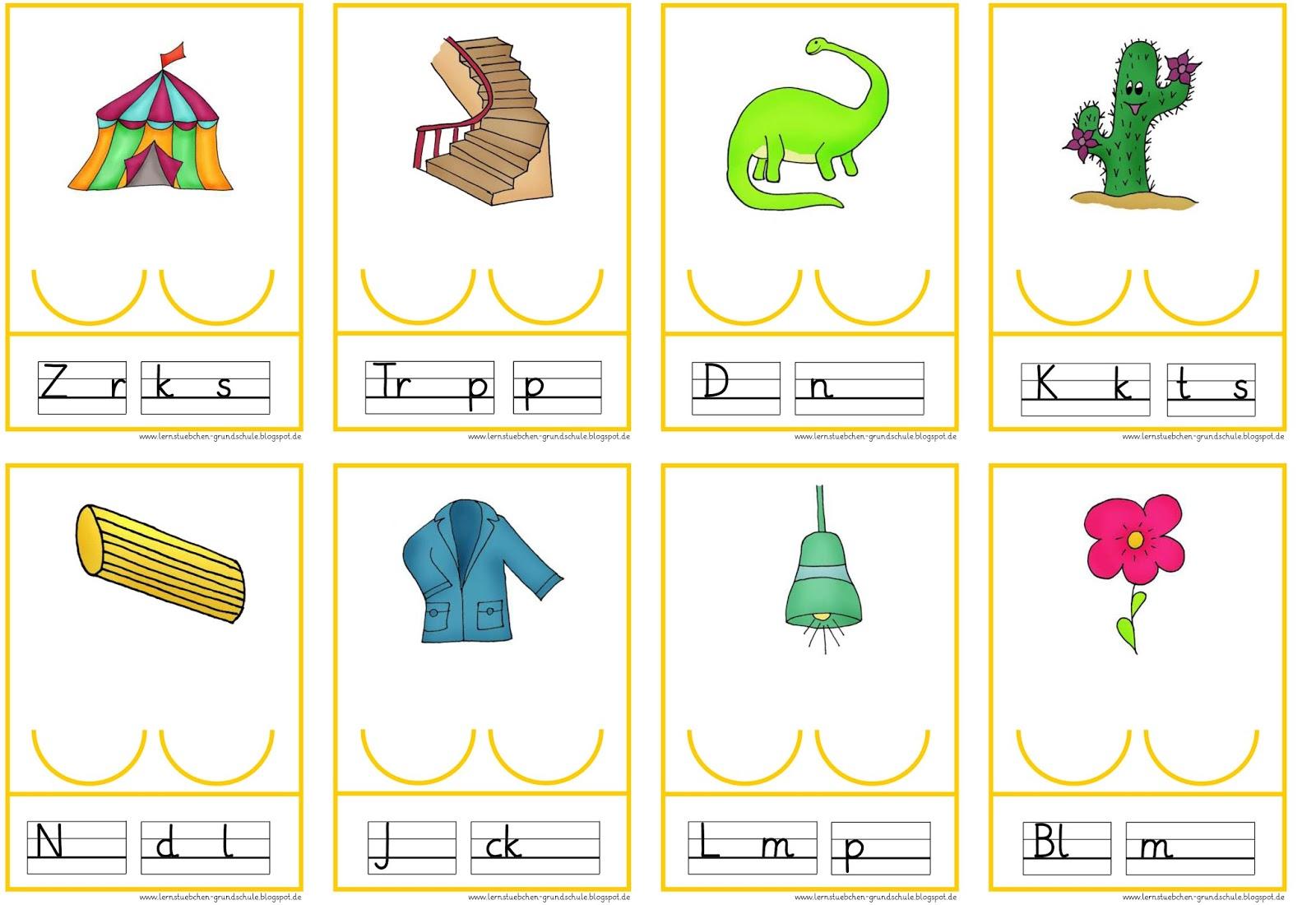 Lernstübchen: Vokale einsetzen