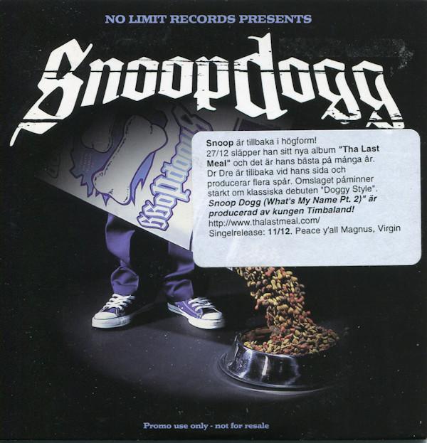 Snoop Dogg - What's My Name Pt  2 (Instrumental) - Timbaland