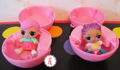 Две куклы ЛОЛ Сюрприз для сравнения: подделка и оригинал фирмы MGA