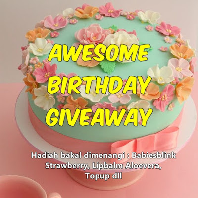 http://sayasyiera.blogspot.my/2016/02/awesome-birthday-giveaway.html