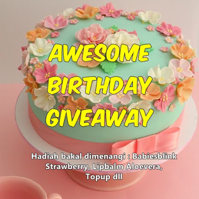 """Awesome Birthday Giveaway """
