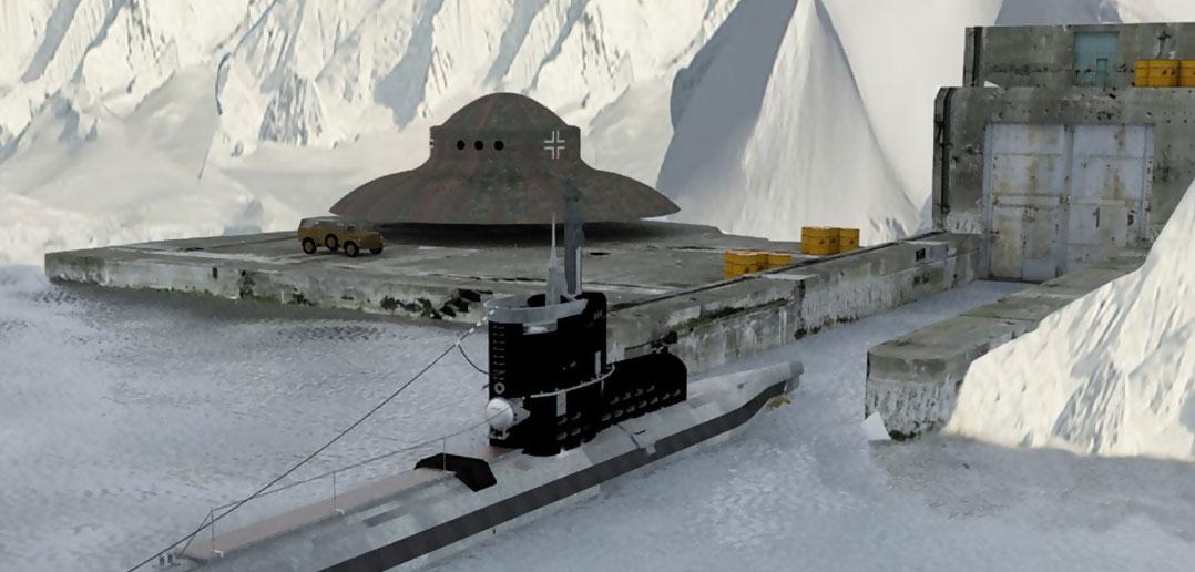 nazi ufos antarctica