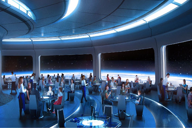 Restaurante do Hotel de Star Wars na Disney Orlando