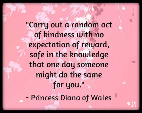 Wordless Wednesday #Actofkindness
