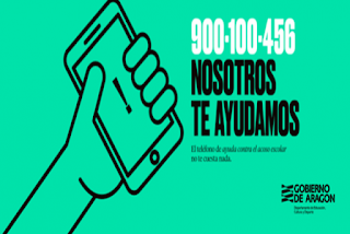 Aragón pionera en habilitar el primer teléfono 24 horas para víctimas de acoso escolar