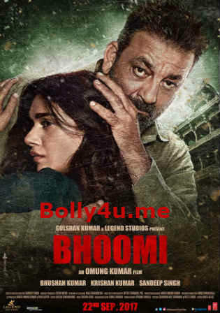 Bhoomi 2017 DVDRip 1.1GB Hindi 720p x264 ESub Watch Online Full Movie Download bolly4u