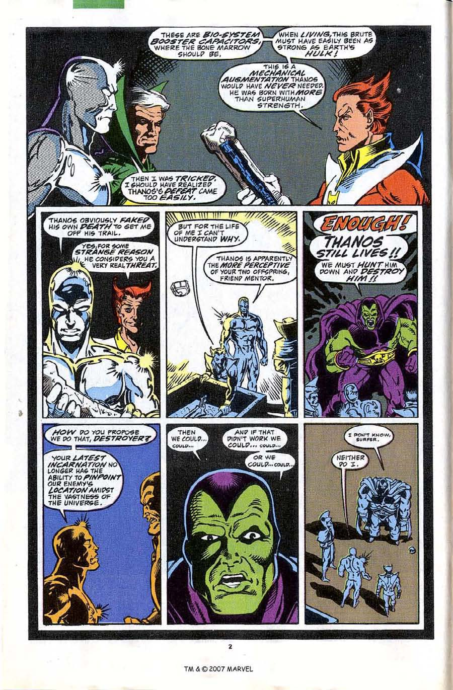 Read online Silver Surfer (1987) comic -  Issue #44 - 4