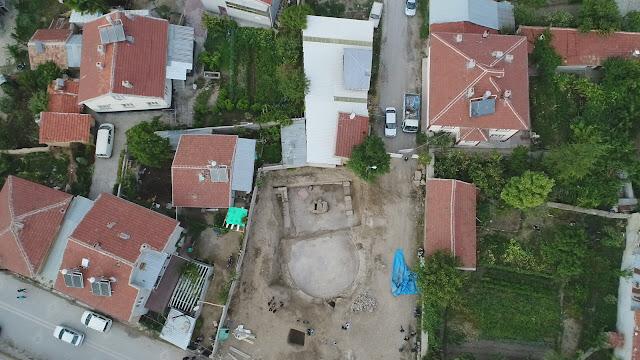 Roman era gymnasium found in ancient city of Laodicea