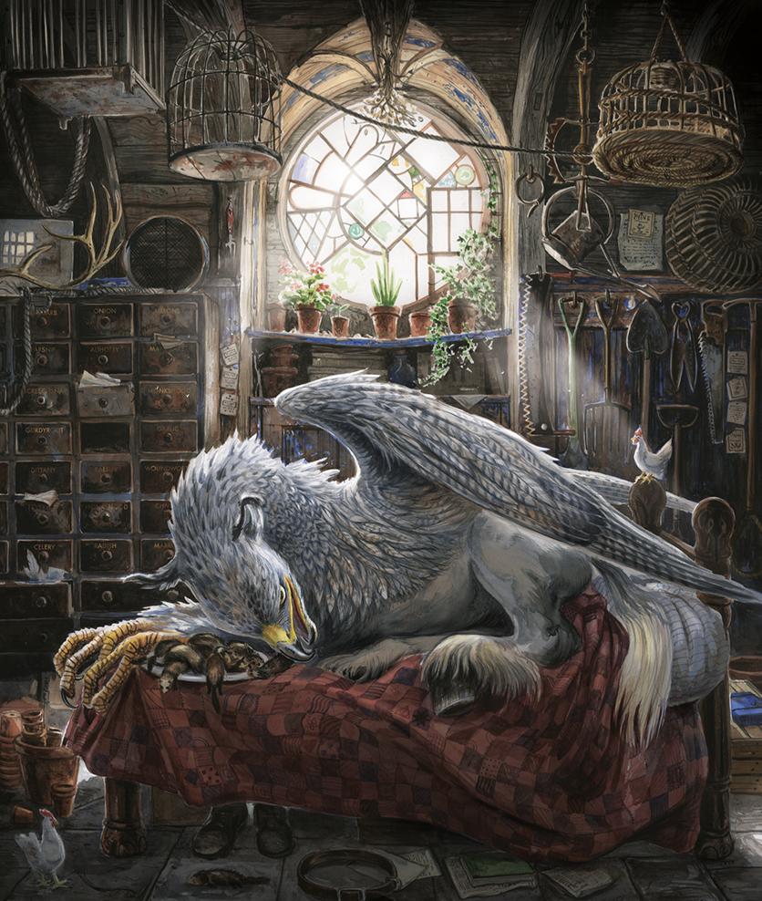 Jim Kay - Harry Potter Illustrator Artist Review & Illustration ...