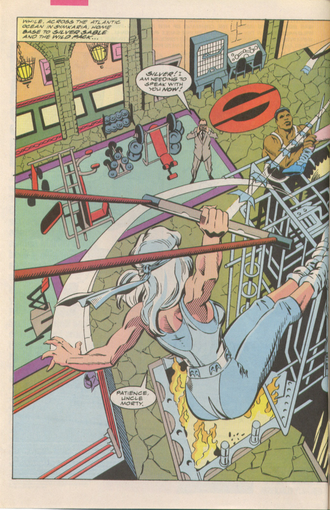 Read online Silver Sable and the Wild Pack comic -  Issue #6 - 3