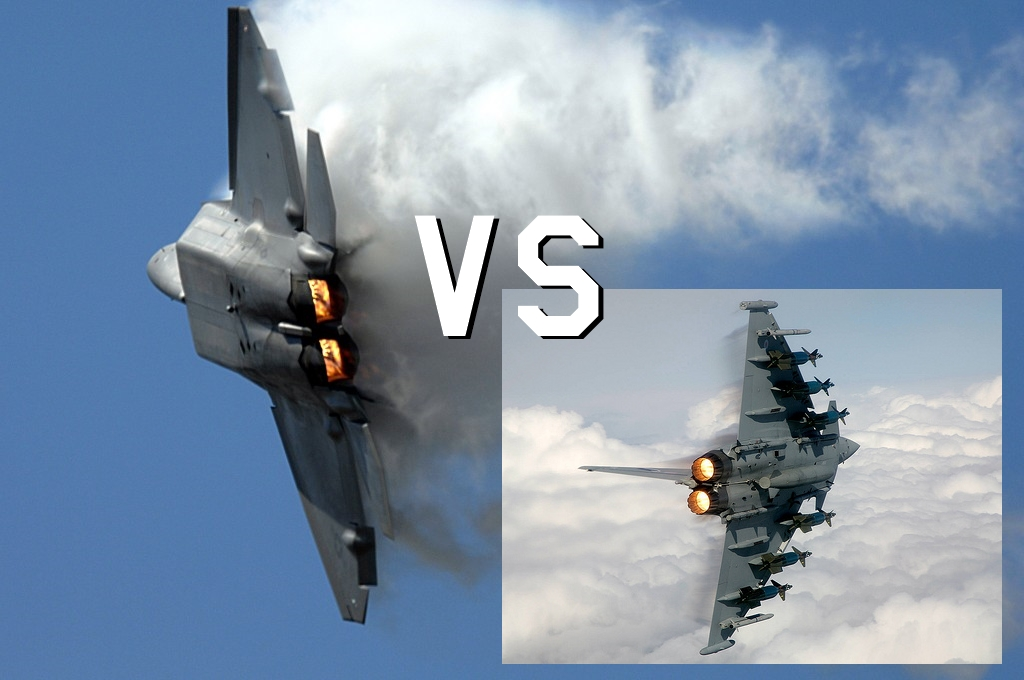 (VIDEO) F-22 RAPTOR VS EUROFIGHTER TYPHOON: WHICH IS THE ...