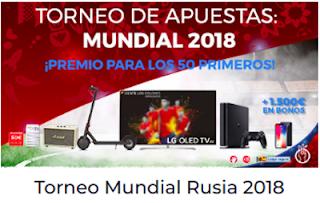 Paston Torneo de Apuestas: Mundial Rusia 2018