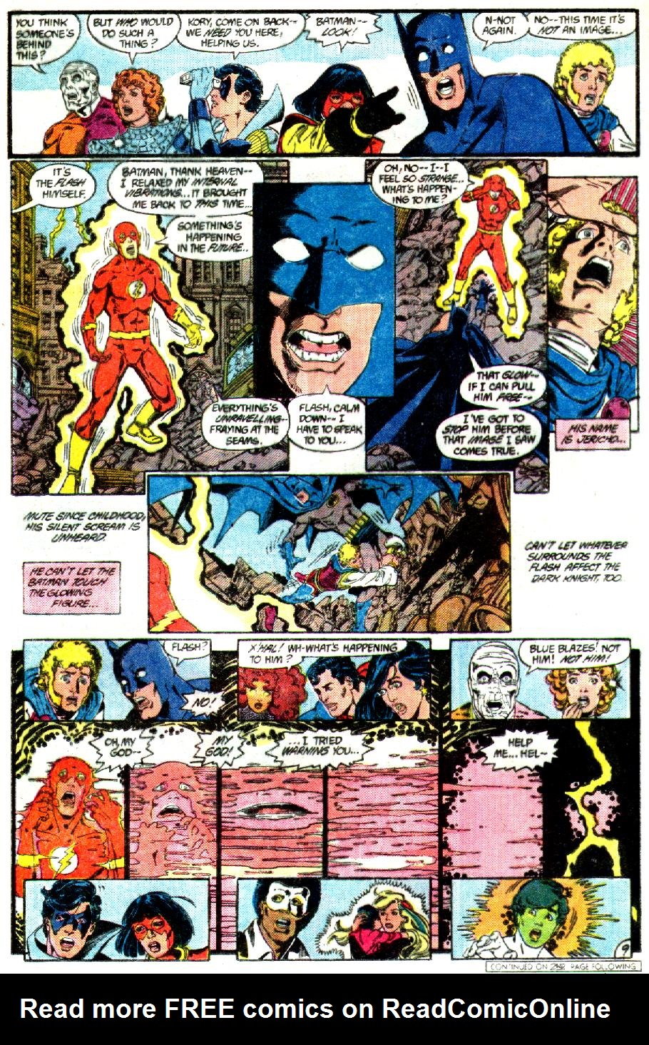 Read online Crisis on Infinite Earths (1985) comic -  Issue #3 - 10