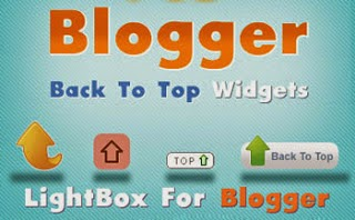 Back to TOP button HTML For Blogger (Blogspot), Wordpress, Joomla...