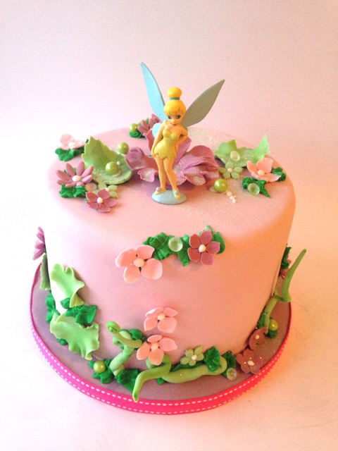 Rozanne S Cakes Pretty Tinkerbell Cake
