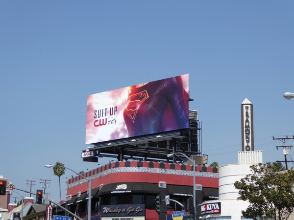 Supergirl season 2 billboard