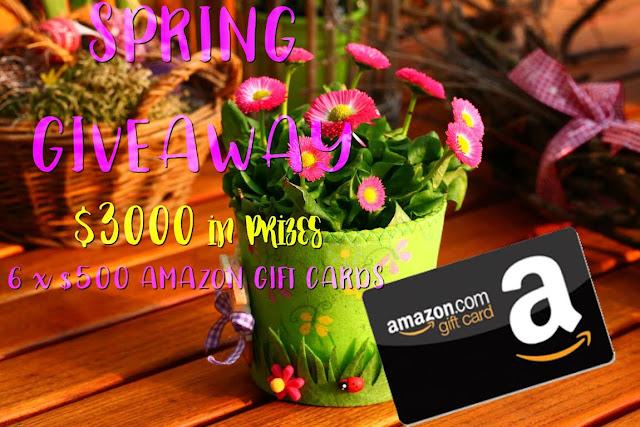 https://thebooknymphpr.com/giveaways/spring-3000-prize-giveaway/