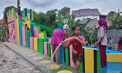 Pengalaman Berwisata Ke Taman Bunga Baturaja OKU Saat Tahun Baru 2019