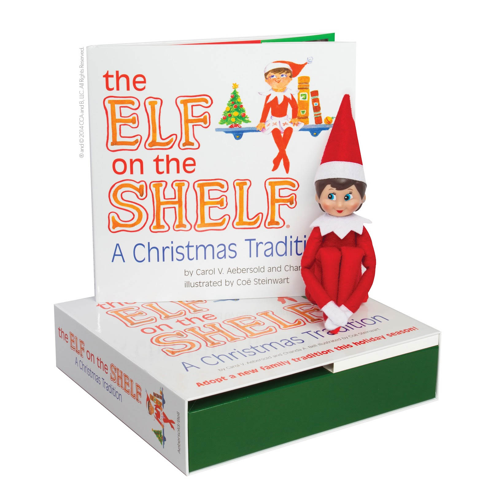 ", Competition:  Win an Exclusive ""The Elf on the Shelf®: A Christmas Tradition"" Goody Bag (worth over £75)"