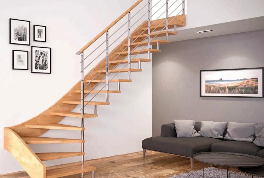 Desain Tangga Rumah Minimalis Ukuran Kecil Modern Terbaru 2019