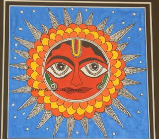 Madhubani Sun