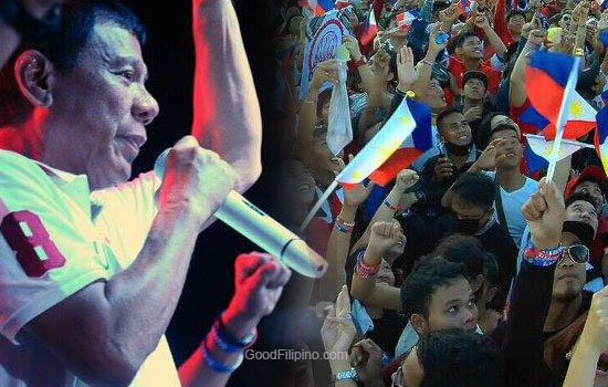 Duterte's Thanksgiving Party 'One Love, One Nation' in Cebu City