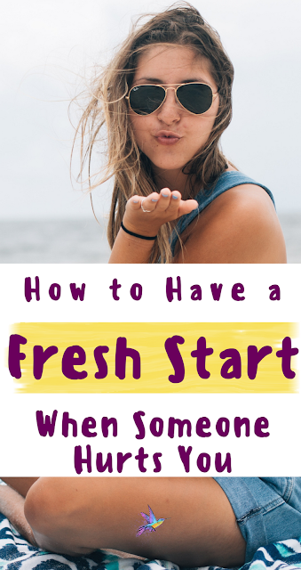 How to Have a Fresh Start With Someone Who Has Hurt You. Reconciliation and forgiveness for friendships. | #faith #forgiveness #inspiration