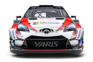 Toyota Yaris WRC 2018 Front