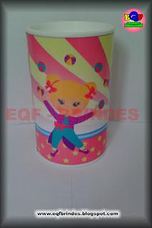 circo rosa, lembrancinha circo rosa, cofrinho circo rosa, tema circo rosa, festa circo rosa, brindes circo rosa, personalizados palhacinha