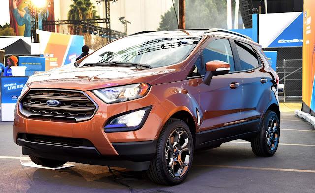 Nova Ford Ecosport: SUV chega no Brasil no 2º semestre de 2017
