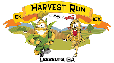 2016 Harvest Run logo