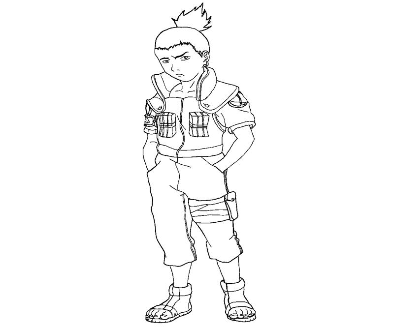 Naruto coloring pages | Print and Color.com | 667x800