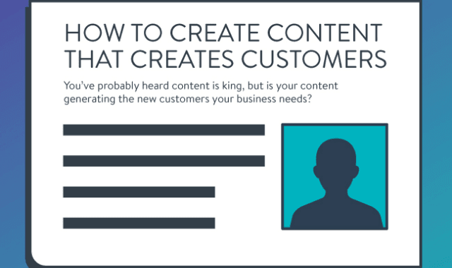 How to Create Content That Creates Customers