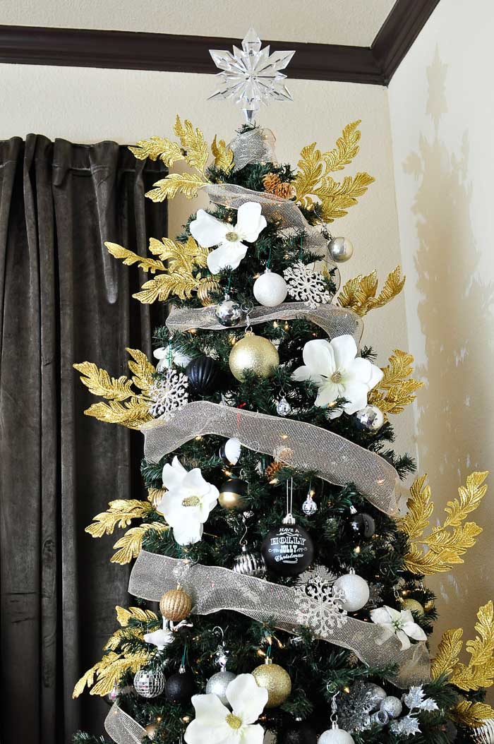 My Home Style Glam Glitz Christmas Tree Monica Wants It