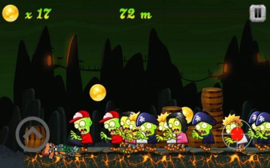 لعبة الهجوم على الزومبي