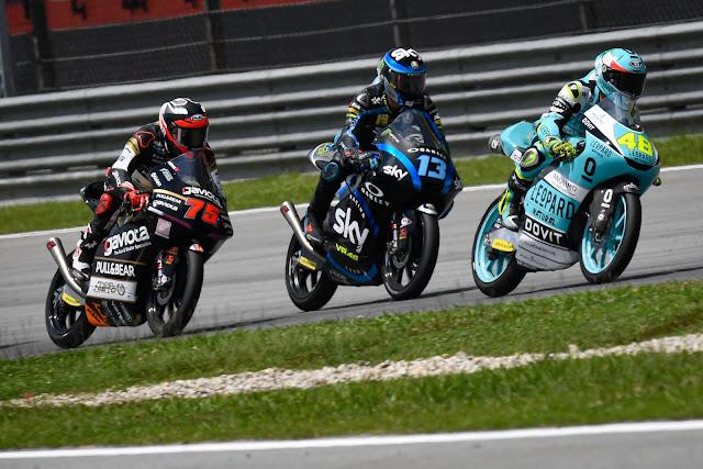 O campeão Lorenzo Dalla Porta segue vencendo na temporada da Moto3