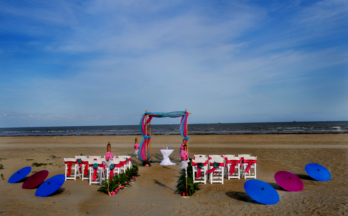 Galveston Beach House Wedding Venues
