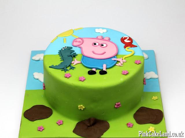 Peppa Pig Cakes London