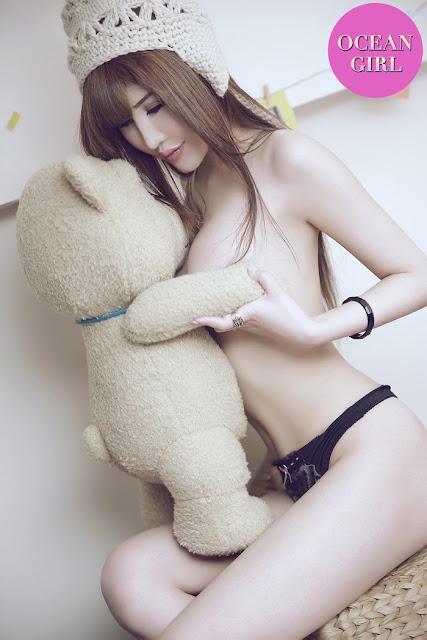 """Hot girl nóng bỏng thích ôm """"gấu"""" 18+"""